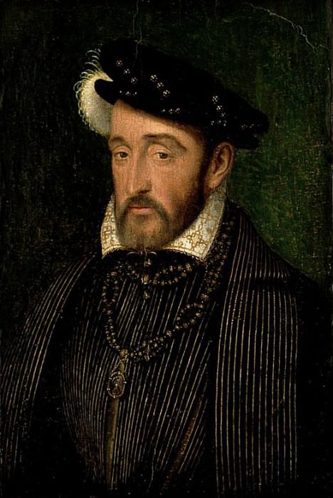 Генрих II (1519-1559), король Франции. Франсуа Клуэ