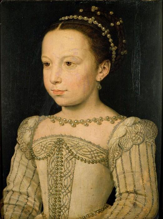 Маргерит де Валуа (1553-1615). Франсуа Клуэ