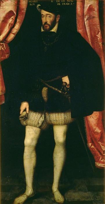 Король Франции Генрих II (1519-1559). Франсуа Клуэ