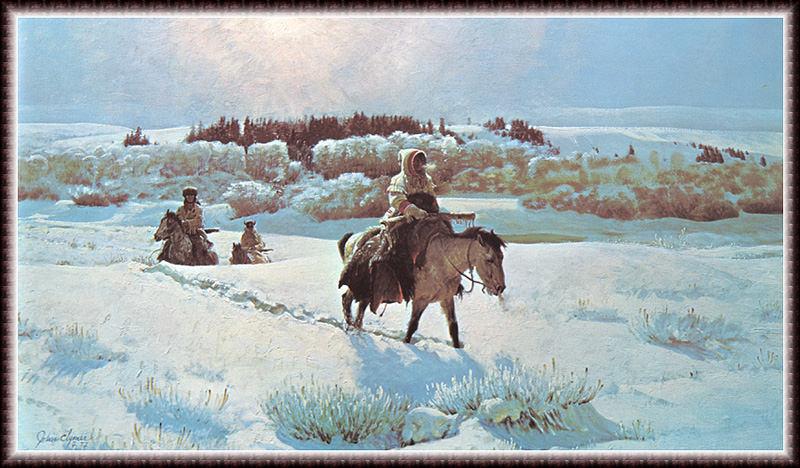 Зимняя тропа. Джон Клаймер