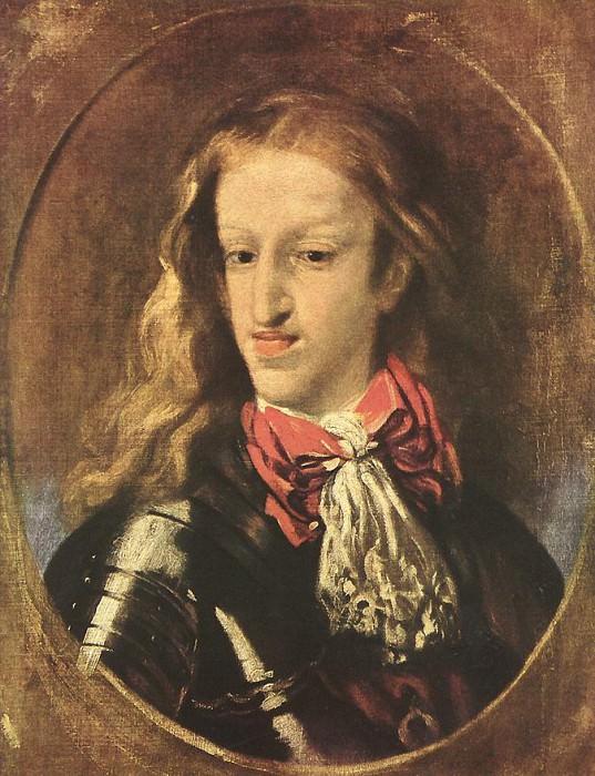 COELLO Claudio King Charles II. Коэльо Клаудио