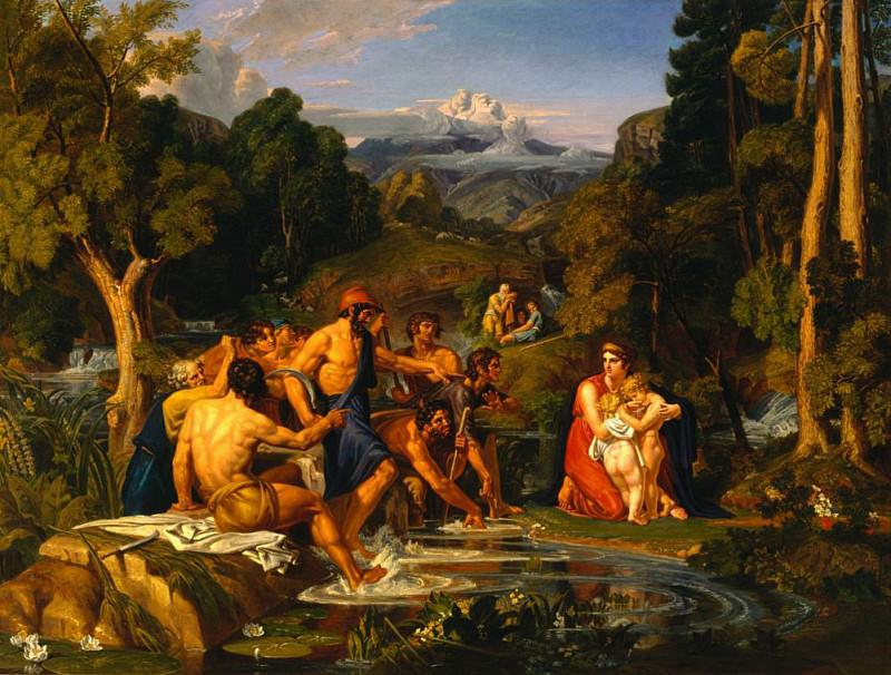 Latona and the Lycian Peasants. Joshua Cristall