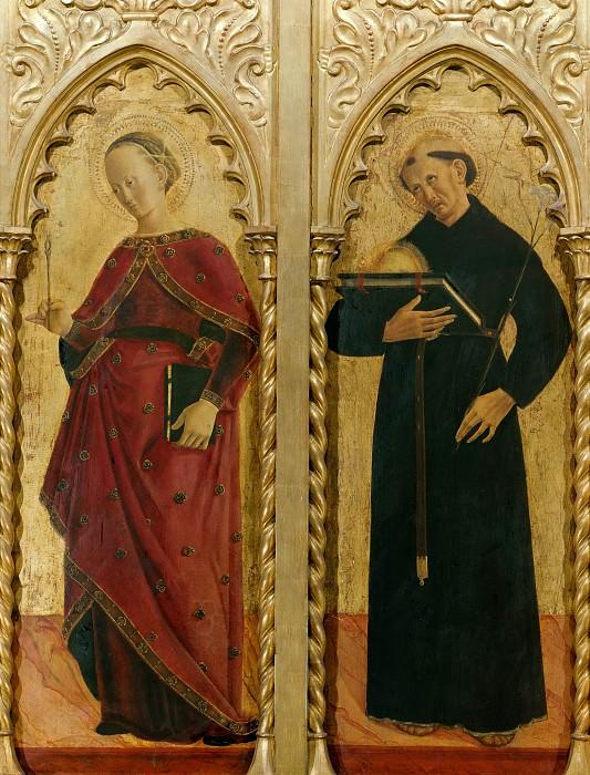 Gualdo Tadino Polyptych, detail. Girolamo di Giovanni da Camerino