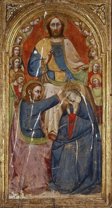 The Coronation of the Virgin. Girolamo di Giovanni da Camerino