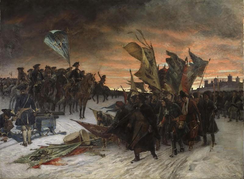 Narva. Gustaf Olof Cederström