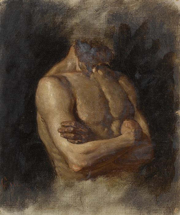 Nude. Gustaf Olof Cederström