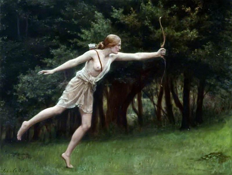Artemis. John Collier