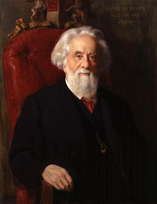 Sir William Huggins, Astronomer. John Collier