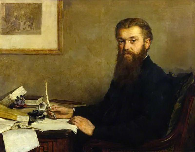 Уильям Кингдон Клиффорд (1845–1879). Джон Кольер