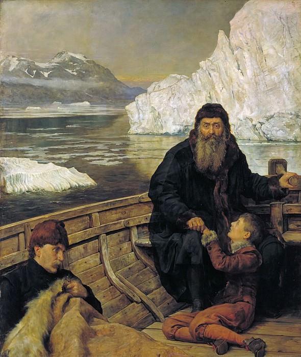 Last voyage of Henry Hudson. John Collier