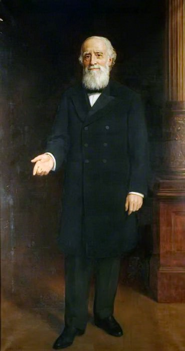 Sir George Williams (1821–1905). John Collier