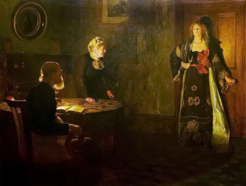 The Prodigal Daughter. John Collier