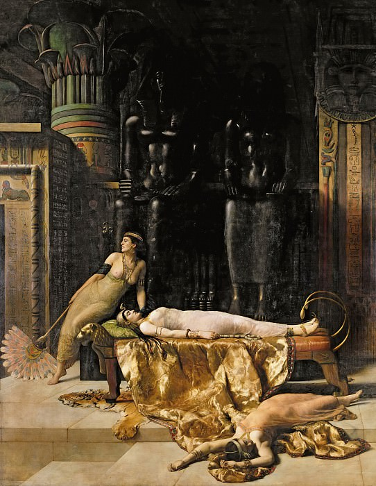 The Death of Cleopatra. John Collier
