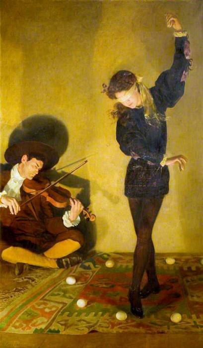 Egg Dance. John Collier