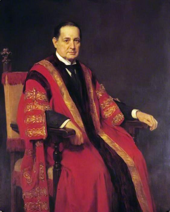 John Bland-Sutton (1855–1936). John Collier