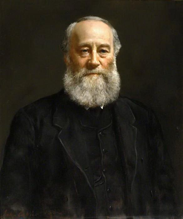 James Prescott Joule (1818–1889). John Collier
