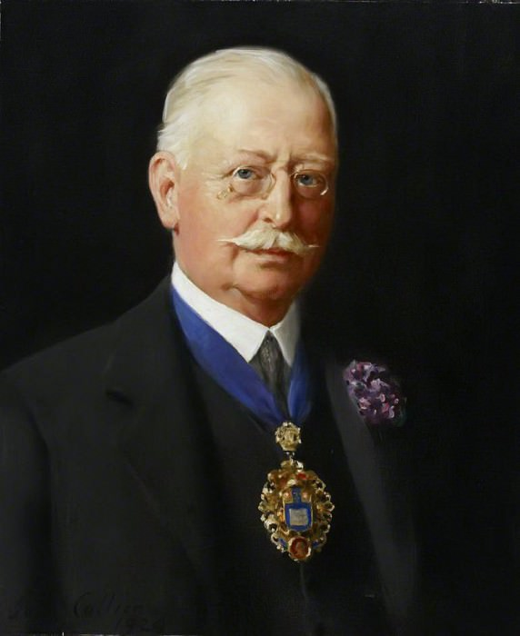 Councillor Edgar Home, Mayor of Westminster (1923–1924). John Collier