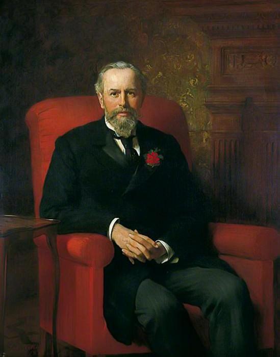 Felix Thornley Cobbold (1841–1909). John Collier