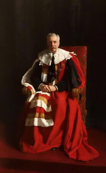 Herbrand Arthur Russell (1858–1940), 11th Duke of Bedford. John Collier