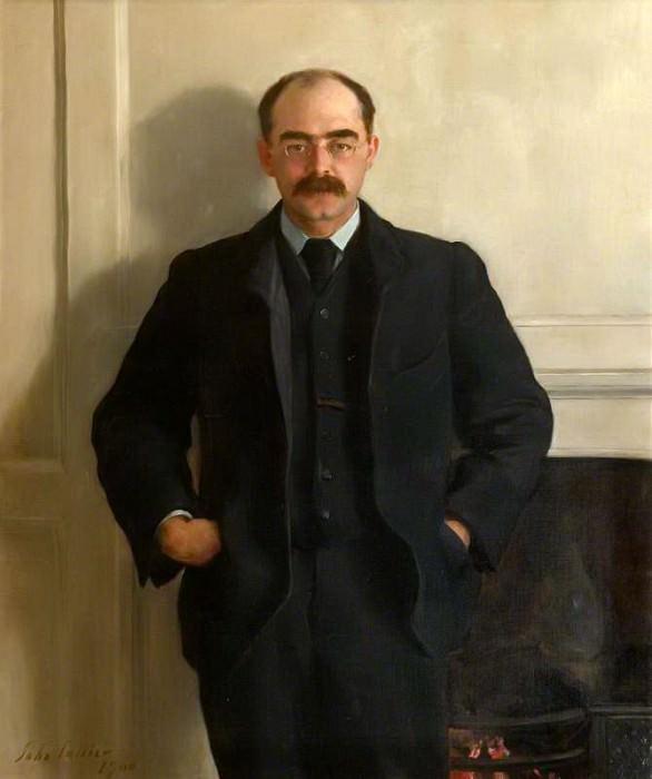 Rudyard Kipling (1865–1936). John Collier