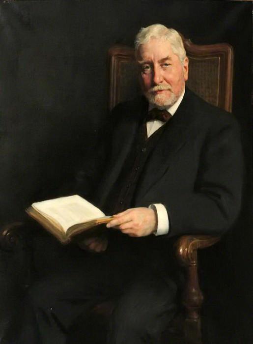Edward Clodd (1840–1930). John Collier
