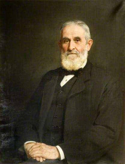 Sir John Evans (1823–1908). John Collier