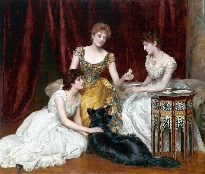 The Three Daughters of William Reed. John Collier