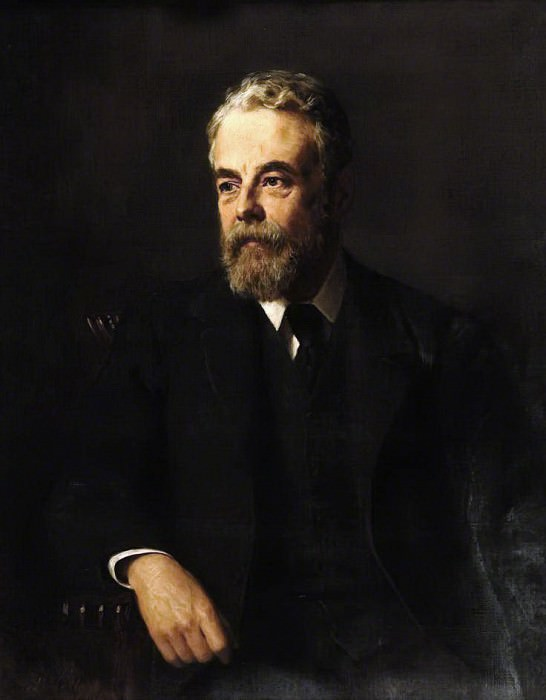 Lord Monkswell (1845–1909), Politician. John Collier