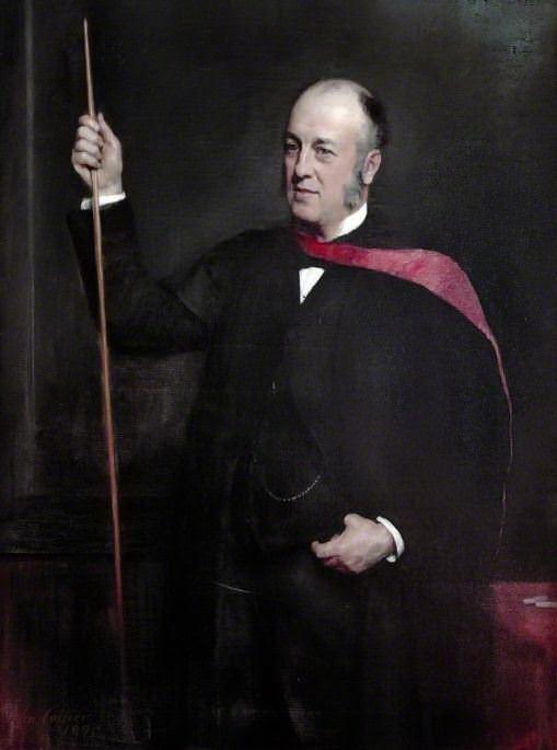 Sir William Mitchell Banks (1842–1904). John Collier