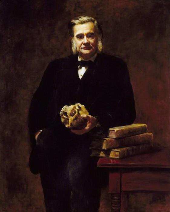 Thomas Huxley (1825–1895). John Collier