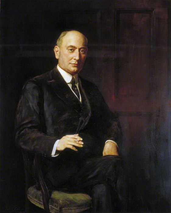Sir Landon Ronald (1873–1938). John Collier