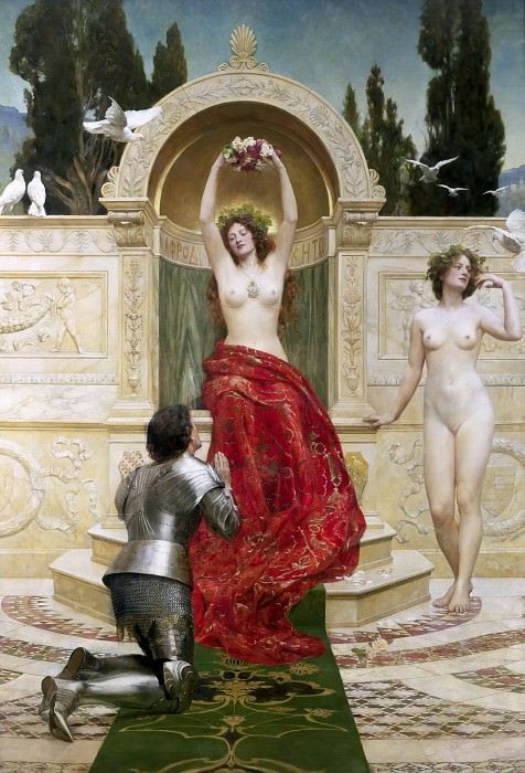In the Venusberg Tannhauser. John Collier