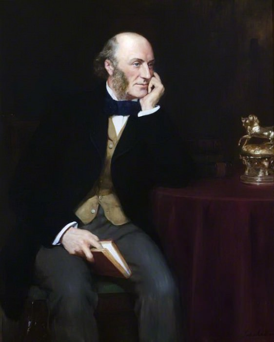 George John Vernon Warren (1803–1866), 5th Baron Vernon. John Collier