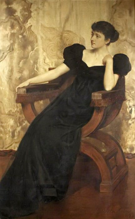 Portrait of an Unknown Woman. John Collier