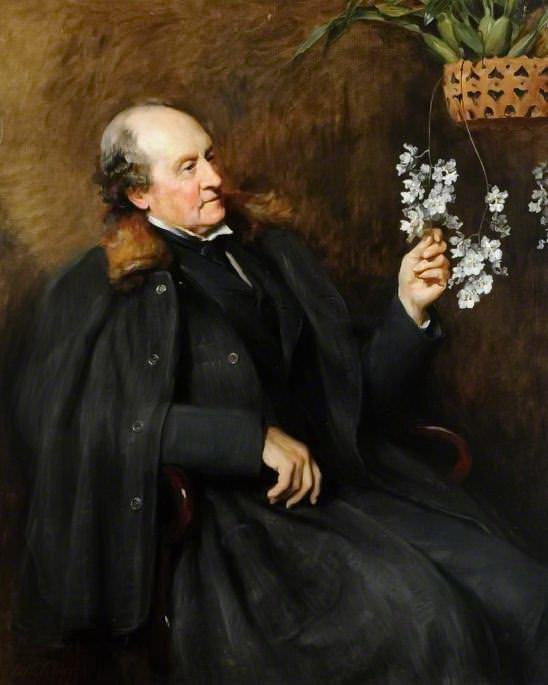 Sir Charles Strickland (1819–1909). John Collier