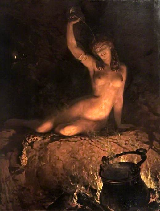 An Incantation. John Collier