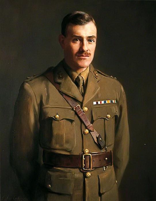 Portrait of Unknown Soldier. John Collier