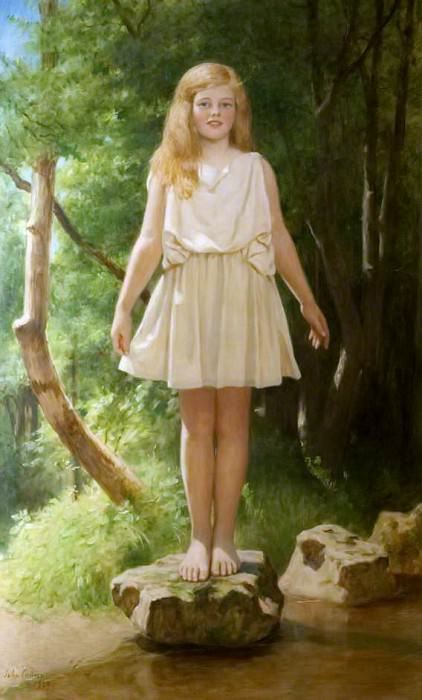 Stepping Stones Pamela. John Collier