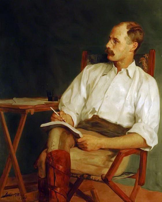 George Warrington Stevens, War Correspondent. John Collier