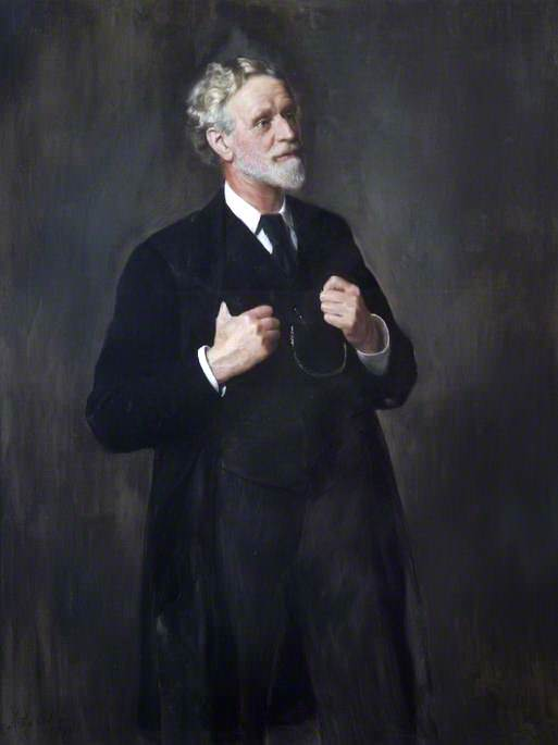 Thomas Smith, Surgeon to St Bartholomews Hospital (1873–1898). John Collier