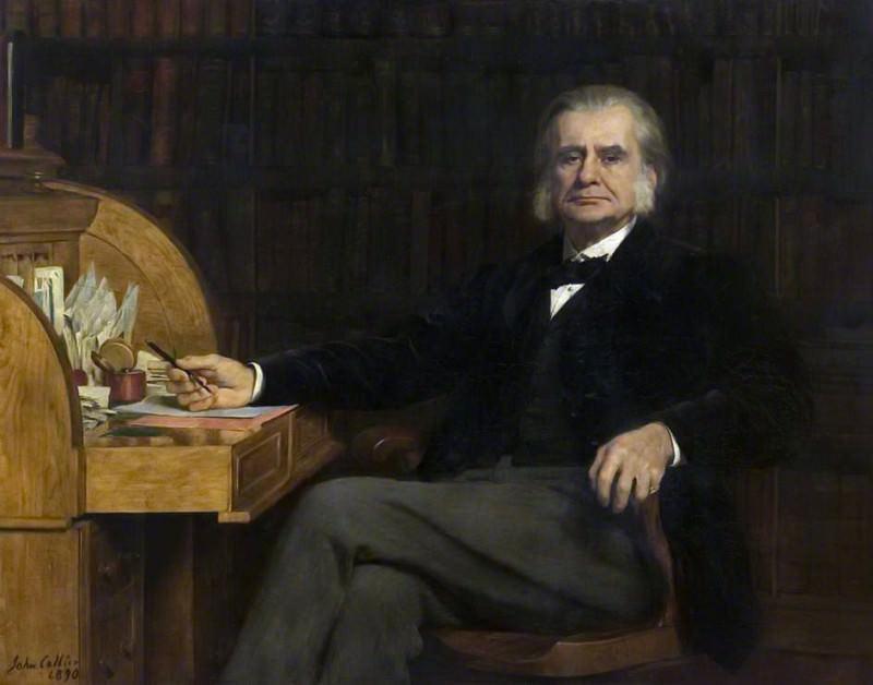 Профессор Томас Генри Гексли (1825–1895). Джон Кольер