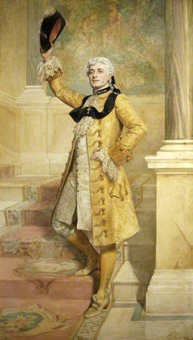 Lewis Waller (1860–1915), as Monsieur Beaucaire. John Collier