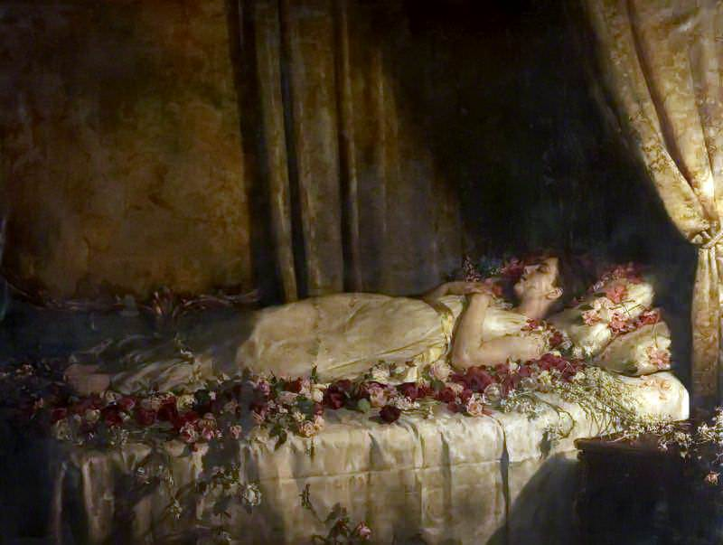 The Death of Albine. John Collier