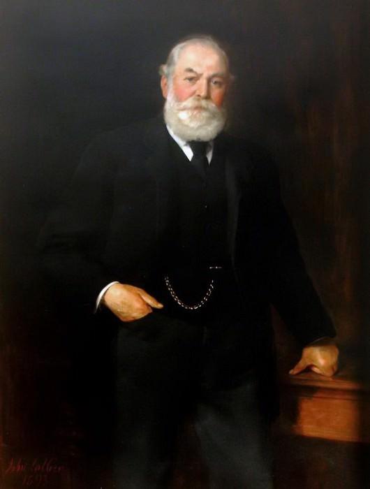 Sir Isaac Wilson (1822–1899). John Collier