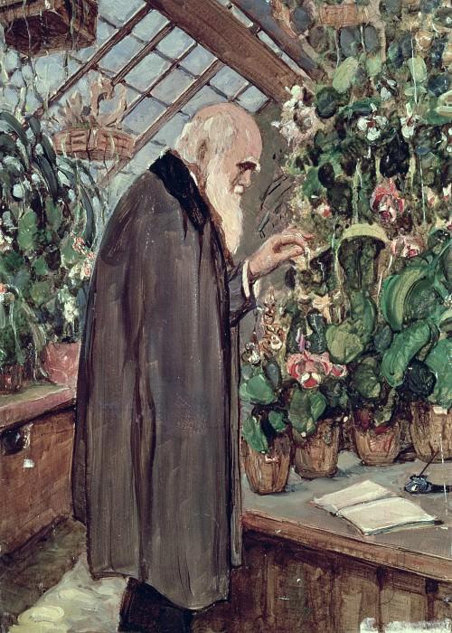 Charles Darwin. John Collier