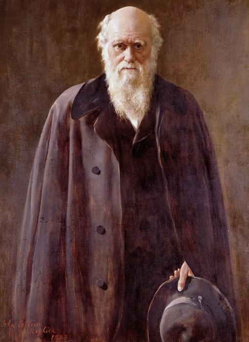 Charles Darwin (1809-1882). John Collier