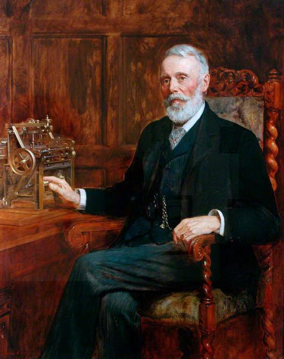 Samuel Lister (1815–1906), Baron Masham. John Collier