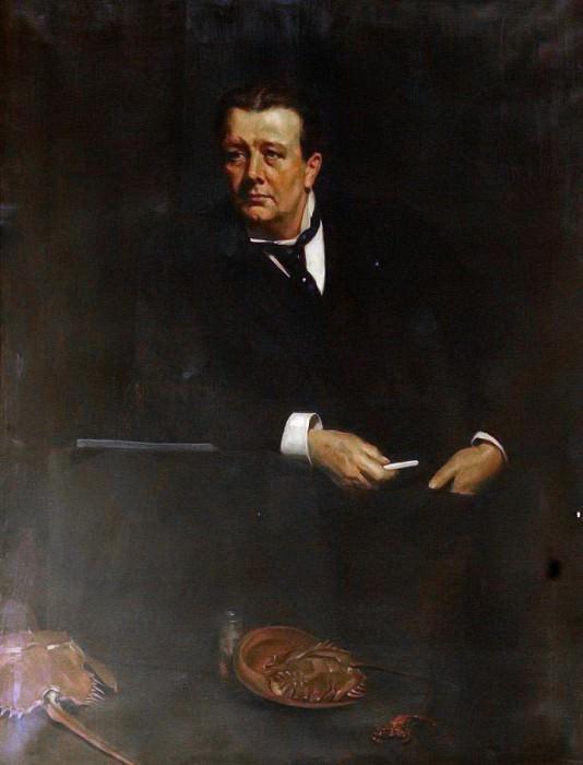 Sir Edwin Ray Lankester (1847–1929). John Collier
