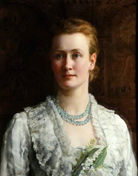 Бланш Пэриш (1851–1924), леди Шаттлуорт. Джон Кольер