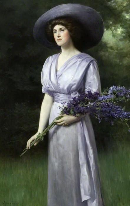 Дорис Аллан (1883–1962), леди Вернон. Джон Кольер